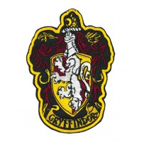 Embroidery patch Harry Potter GRYFFINDOR 7,7cm x 100cm
