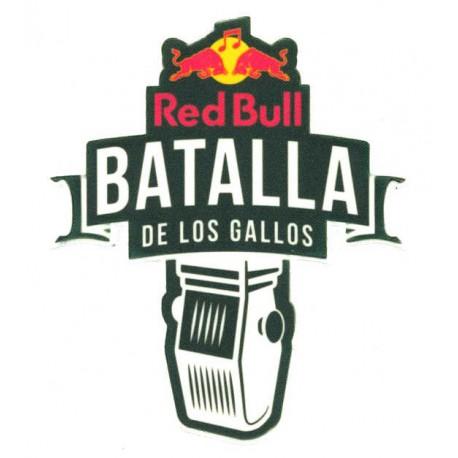 Parche textil y bordado BATALLA DE LOS GALLOS 11cm x 13cm