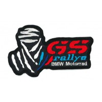 Parche bordado BMW GS 30 YEARS 9cm x 5cm