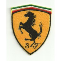 Patch embroidery FERRARI 35MM X 45MM