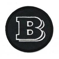 Parche textil BRABUS 9 cm x 3cm