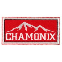 Parche bordado CHAMONIX MONT-BLANC 7,5cm