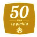 Textile patch LA PINILLA 1968 6.5cm x 6.5cm
