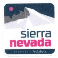 Textile patch SIERRA NEVADA 5.5cm x 5.5cm