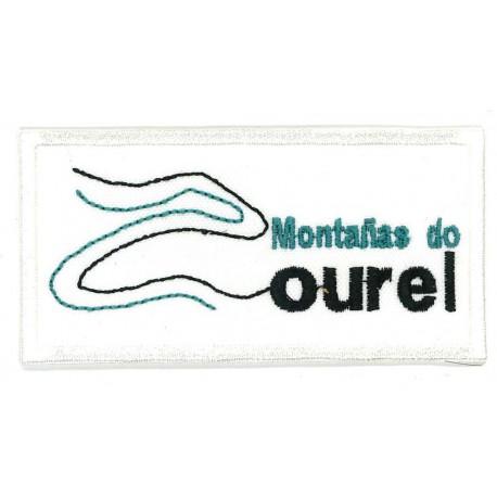 Embroidery Patch MONTAÑAS DO COUREL 8,5cm x 4cm