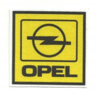Textile patch OPEL 7 cm x 7 cm