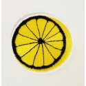 Embroidered patch LEMON 3cm