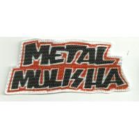 Parche textil METAL MULISHA 10,5cm x 4,2cm