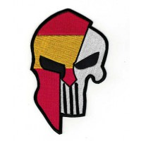 Embroidered patch THE GLADIATOR PUNISHER SPAIN 9cm x 15cm