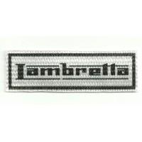 Textile patch LAMBRETTA 9cm x 3cm