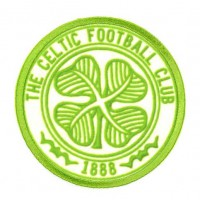 Embroidery and textile patch THE CELTICS FOOTBALL CLUB BADGE 1888 8cm