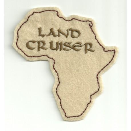 Parche bordado LAND CRUISER AFRICA 9cm x 10cm