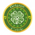 Embroidery and textile patch BELFAST CELTIC F.C PNG 8cm