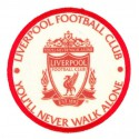 Embroidery and textile patch LIVERPOOL FOOTBALL CLUB 1892 8cm