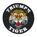 Embroidery patch TIGER TRIUMPH 12cm
