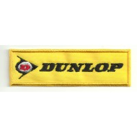 Patch embroidery DUNLOP 9CM X 2,5CM