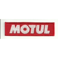 Patch embroidery MOTUL 10CM X 2,7CM
