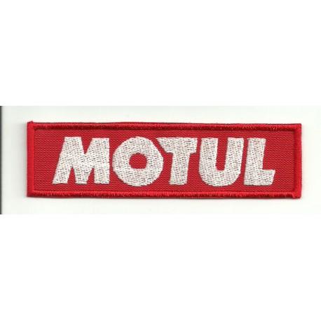 Patch embroidery MOTUL 10CM X 2,7CM