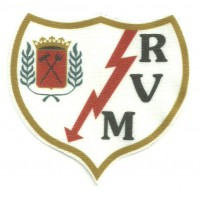 Textile patch RAYO VALLECANO 4cm x 3,7cm