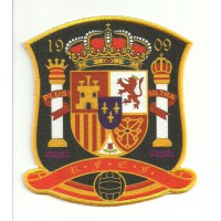 Textile and embroidery patch SPANISH SELECTION 1909 4,5cm x 5cm
