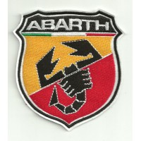 Parche bordado ABARTH 8CM X 9CM