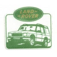 Parche textil LAND ROVER 8cm x 7,5cm