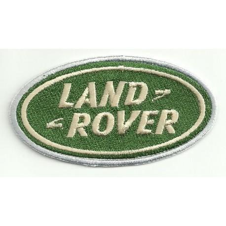 Parche bordado LAND ROVER 9cm x 4,5cm
