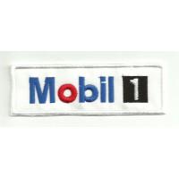 Parche bordado MOBIL 1 10cm x 3cm