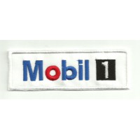 Patch embroidery MOBIL 1 10cm x 3cm