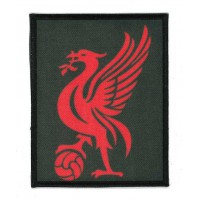 Embroidery and textile patch EAGLE FOOTBALL 6,5cm x 8,5cm