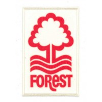 Embroidery and textile patch NOTTINGHAM FOREST 6,5cm x 9,5cm