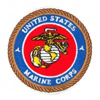 Embroidery patch United STATES MARINE CORPS 7cm