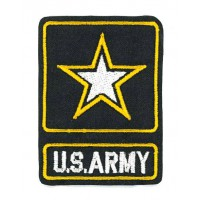 Embroidery patch U.S. ARMY 2,7cm x 4cm