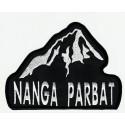 Patch embroidery NANGA PARBAT 4cm x 3cm