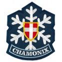 Embroidery patch CHAMONIX MONT-BLANC 3,7cm x 4,5cm