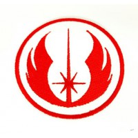 Embroidered patch JEDI ORDER 4cm