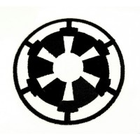Embroidered patch GALACTIC EMPIRE 4cm