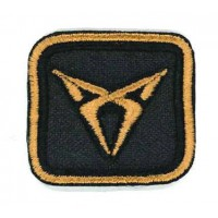 Embroidery patch CUPRA PROFILE 8,5cm x 6,5cm