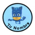 Embroidery and textile patch PJ MASKS CAT 8cm