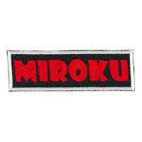 Embroidery patch MIROKU 10,5cm x 3cm
