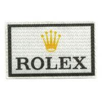 Parche textil ROLEX 7,5 cm x 5cm