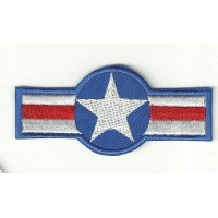 Patch embroidery NAVAL AVIATION 8cm x 3,5cm