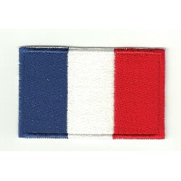Patch embroidery FLAG FRANCE 7CM X 5CM