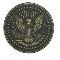 Parche textil ESCUDO USA 7cm