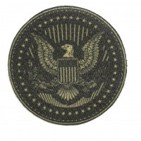 Textile patch ESCUDO USA 7cm