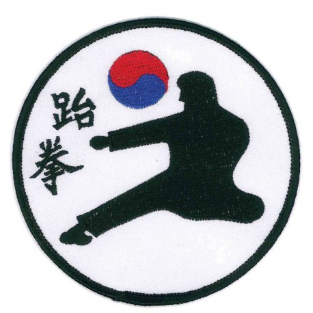 Patch embroidery KEMPO KARATE 8cm