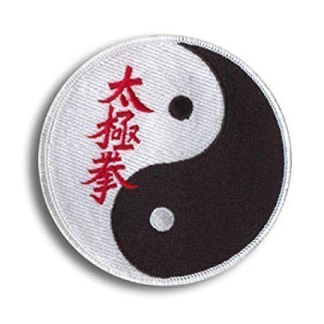 Patch embroidery TAEKWONDO 8cm