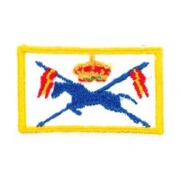 Embroidered patch ROYAL ESCORT SQUAD FLAG 4cm x 2cm
