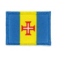 Embroidery and textile patch FLAG SEVILLA 7CM x 5CM