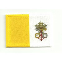 Patch embroidery and textile VATICAN CITY 4CM X 3CM